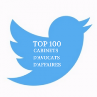 TOP 100 Twitter Cabinets d'Avocats d'Affaires
