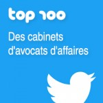 TOP 100 cabinets d'avocats d'affaires Twitter