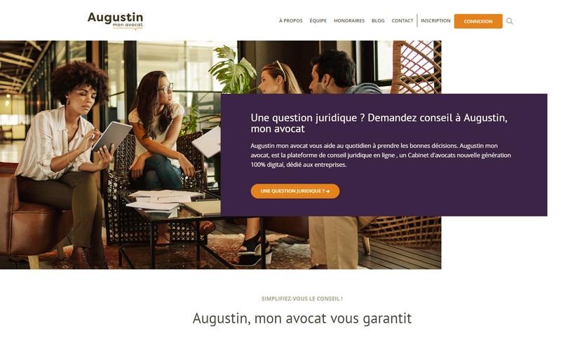 Augustin Mon Avocat Un Cabinet D Avocats 100 Digital Le Monde