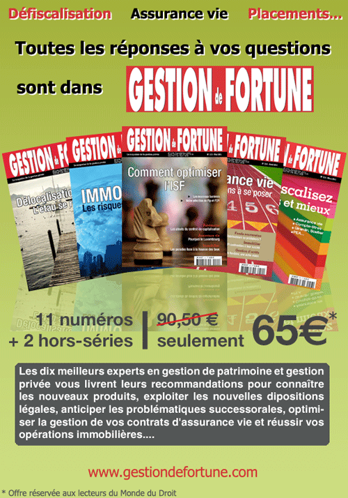 Gestion de Fortune, le Magazine de la Gestion de Patimoine