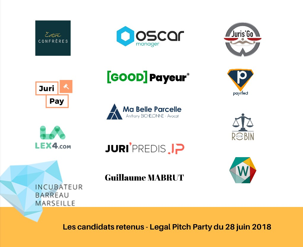 legalpitchparty2018 candidats