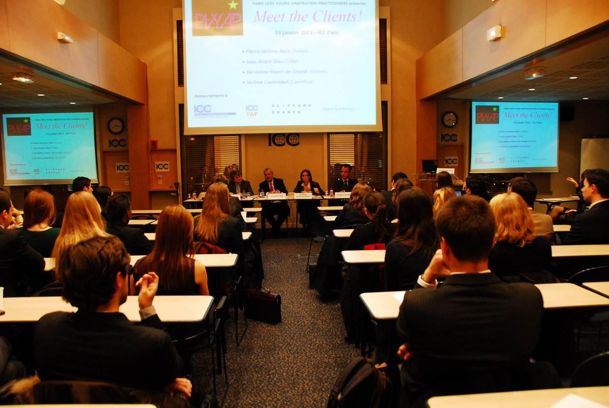 Paris very young arbitration practitioners r compens par for Chambre de commerce internationale arbitrage