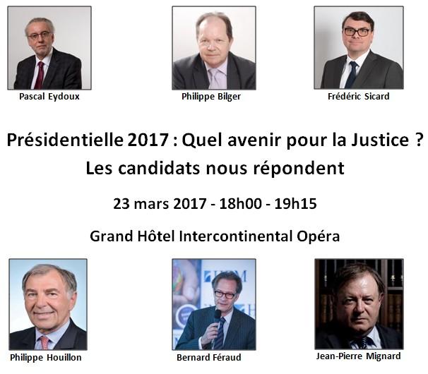 Présidentielle 2017 : Quel avenir pour la Justice ?