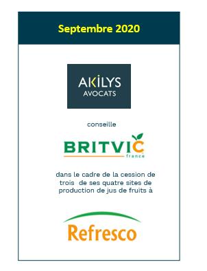 Akilys  a conseillé le groupe Britvic