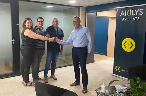 Akilys a conseillé Téréva dans le cadre de l'acquisition de J2A Distrib'
